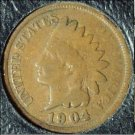 1904 Indian Head Cent G #729