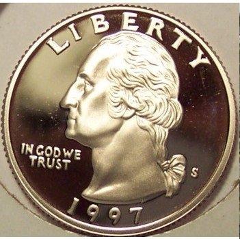 1997-S DCAM Proof Washington Quarter PF65 #745