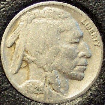 1928 Buffalo Nickel Full Date VG #780