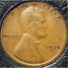 1936-D Lincoln Wheat Back Penny VF #833