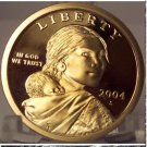 2004-S DCAM Proof Sacagawea Dollar PF65 FREE S&H #842