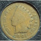 1901 Indian Head Penny G #868