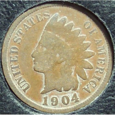 1904 Indian Head Penny G #901