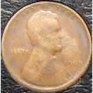 1909 Lincoln Wheat Back Penny G4 #914