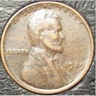 1929 Lincoln Wheat Back Penny VF #0972