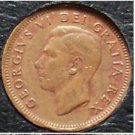 1951 Canadian George VI Cent VF #977