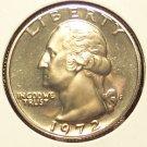 1972-S DCAM Proof Washington Quarter  PF65  #285