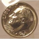 1988-D Roosevelt Dime MS65 In the Cello #386