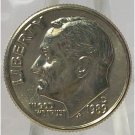 1989-D Roosevelt Dime GEM BU in the Cello #0755