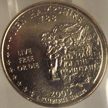 2000-P New Hampshire State Quarter MS65 in the cello #797