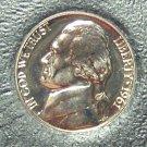 1961 Proof Jefferson Nickel #0800