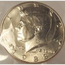 1988-D Kennedy Half Dollar In the Cello MS64 #859