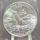 2001-P Rhode Island State Quarter MS65 in the Cello #0512