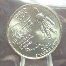 2002-D Ohio State Quarter MS65 in the Cello #860
