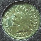 1891 Indian Head Cent VF #124