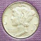 1945 Mercury Silver Dime EF #201