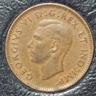 KM#32 1941 Canadian George VI Cent XF #503