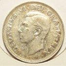 KM#44 1951 Silver Canadian Quarter XF/AU #657