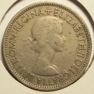KM#892 Great Britain 1953 Florin (2 Shillings) #0108