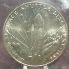 """KM#6 1988 Marshall Islands $5 coin with """"M"""" mintmark #300"""