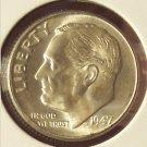1947-D Roosevelt Silver Dime MS65  #550