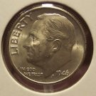 1946 Roosevelt Silver Dime MS65  #678