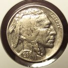 1936 Buffalo Nickel MS63  #927
