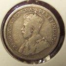KM#23 1918 Silver Canadian Dime Fine #973