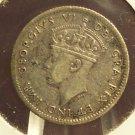 KM#19 Silver 1940-C Newfoundland Nickel EF  #978