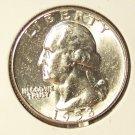 1958 Silver Washington Quarter GEM BU #352