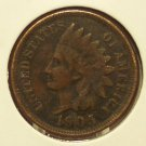 1905 Indian Head Cent Fine Full Liberty #594