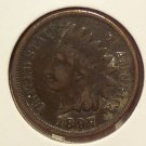 1897 Indian Head Penny VF #883