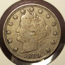 "1899 Liberty ""V"" Nickel VF #060"