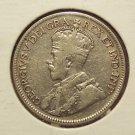 """KM#24a 1936 Silver Canadian Quarter with """"Bar"""" #040"""