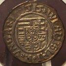 MB#27 1515 Silver Hungarian Denar AU #059