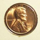 1953-S Lincoln Wheat Penny CH BU #075