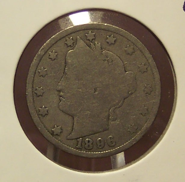 "1896 Liberty ""V"" Nickel G #0093"