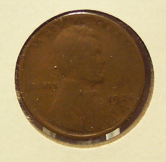 1924-D Lincoln Wheat Penny G4 #095