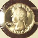 1986-S DCAM Proof Washington Quarter PF65 #317