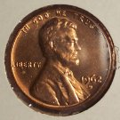1962-D Lincoln Memorial Penny MS65R #437