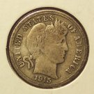 1915 Barber Dime VG #515