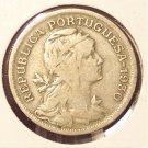 KM# 577 1930 Portuguese 50 Centavos #904