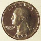 1973-S DCAM Proof Washington Quarter PF65 #582