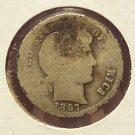 1897-S Barber Dime AG Scarce #017