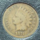 1874 Indian Head Penny G4 #363