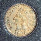 1901 Indian Head Penny EF #435