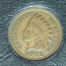 1902 Indian Head Penny VF #0457