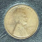 1912-S Lincoln Wheat Penny F12 #027
