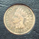 1866 Indian Head Penny G4 #554