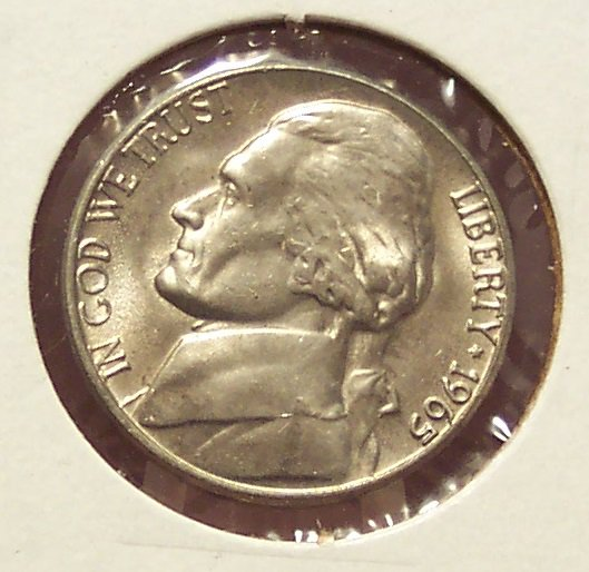 1965 Jefferson Nickel BU #465